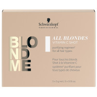 Schwarzkopf Blondme All Blondes Detox Vita C-Shot 5 x 5 g