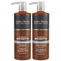 John Frieda Brilliant Brunette Bundle 2x 500 ml