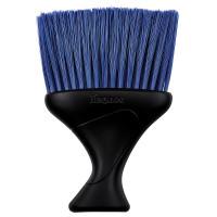 Fripac Denman D78 Nackenwedel schwarz mit blauen Borsten