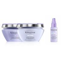 Kérastase Blond Absolu Masque Ultraviolet & Cicaextreme Bundle 2 x 200 ml
