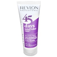 Revlonissimo 45 Days Ice Blondes 2in1 Shampoo & Conditioner 75 ml