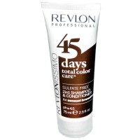 Revlonissimo 45 Days Sensual Brunettes 2in1 Shampoo & Conditioner 75 ml