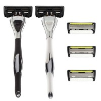 Shave-Lab Starter Set Fire Black P.6+1 Men