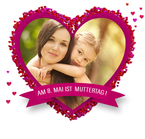 Am 8. Mai ist Muttertag