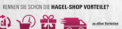 HAGEL-SHOP Vorteile