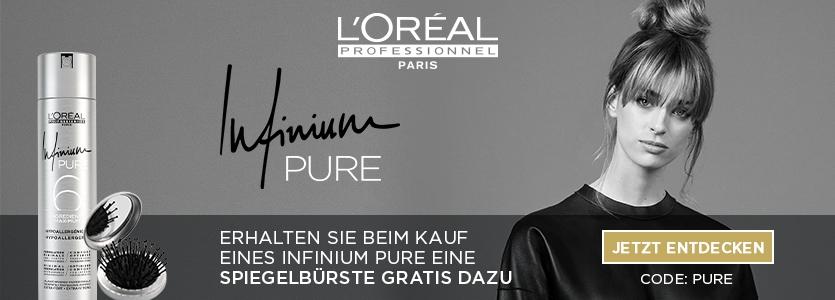 L'Oréal Professionnel gratis Spiegelbürste