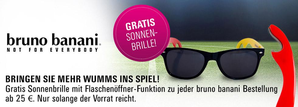WM Sonnenbrille mit Bieröffner