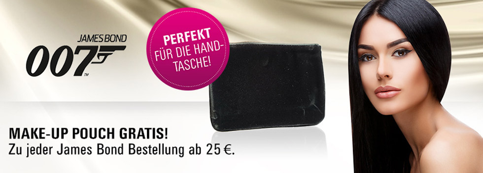 James Bond Pouch gratis