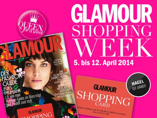 Hagel x Glamour Shopping Week