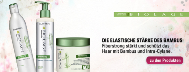 EDITORS PICK: MATRIX BIOLAGE FIBERSTRONG