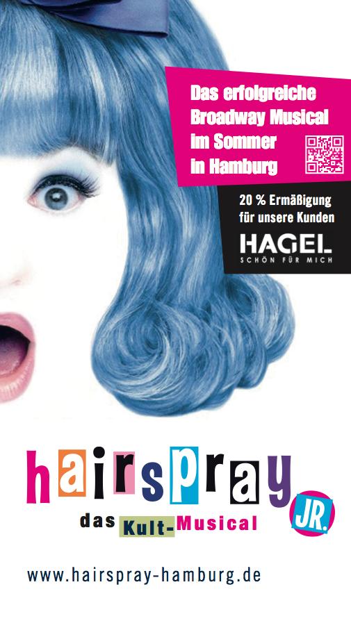 """Facebook-Gewinnspiel: Gewinnt 10x2 Freikarten für das Musical """"Hairspray""""!"""