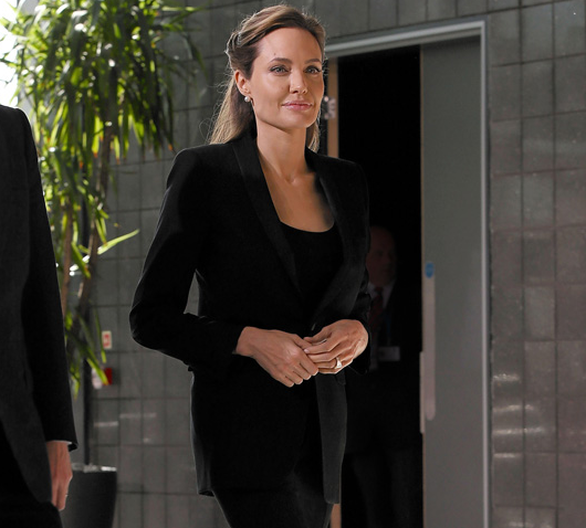 Business Beauty: Der Look von Angelina Jolie