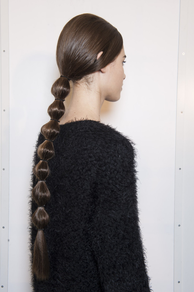 Frisuren-Inspiration: Der Bubble-Zopf