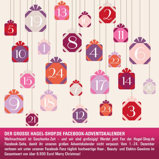 Facebook-Gewinnspiel: Advent, Advent, Hagel-Shop.de beschenkt!