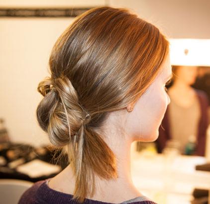Berlin Fashion Week Beauty: Knoten-Chignon!