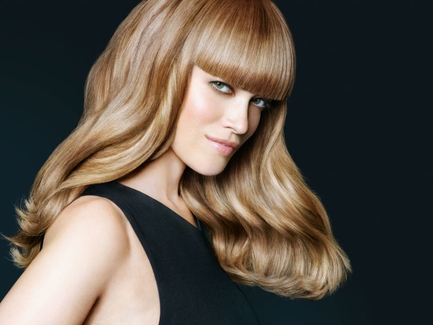 Haar-Inspiration: Warmes Kupfer-Gold-Blond!