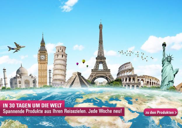 Wir reisen um die Welt!