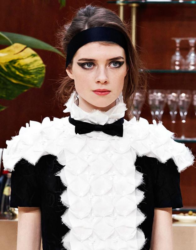Beauty-Inspiration für die Silvester-Nacht: Der Look von Chanel