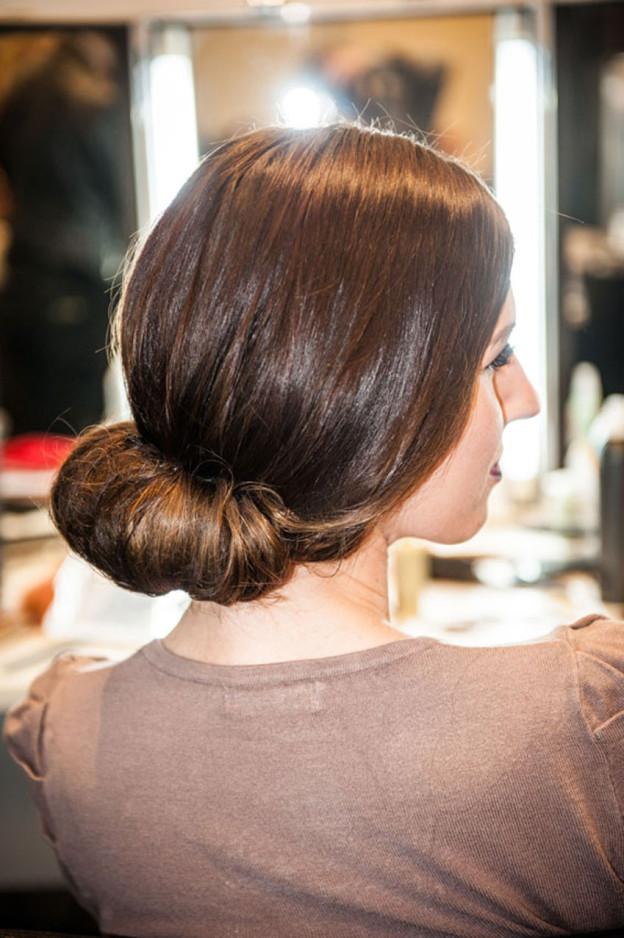 Frisuren Inspiration: Der aufgerollte Dutt
