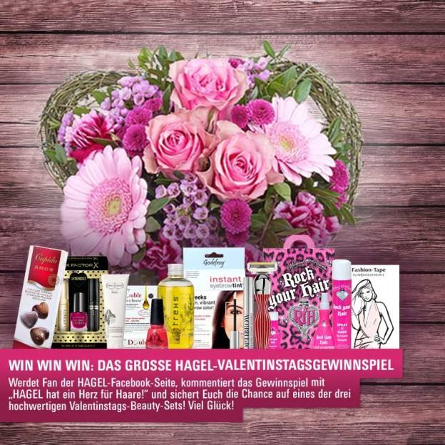 Viva Valentine: Das große HAGEL Valentinstags-Gewinnspiel auf Facebook!