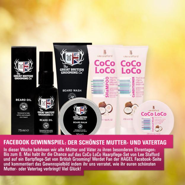 Facebook-Gewinnspiel: Der schönste Mutter- und Vatertag!
