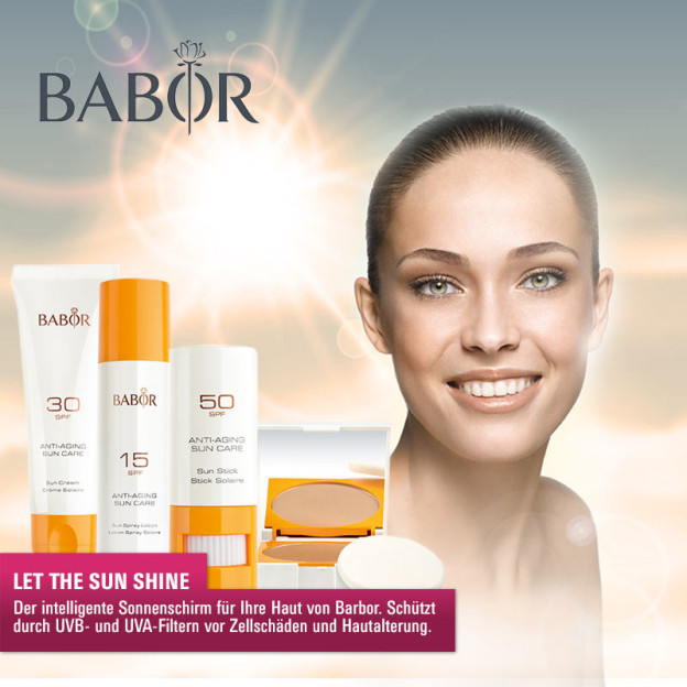 Must Haves der Woche: Babor Anti Aging Sun Care