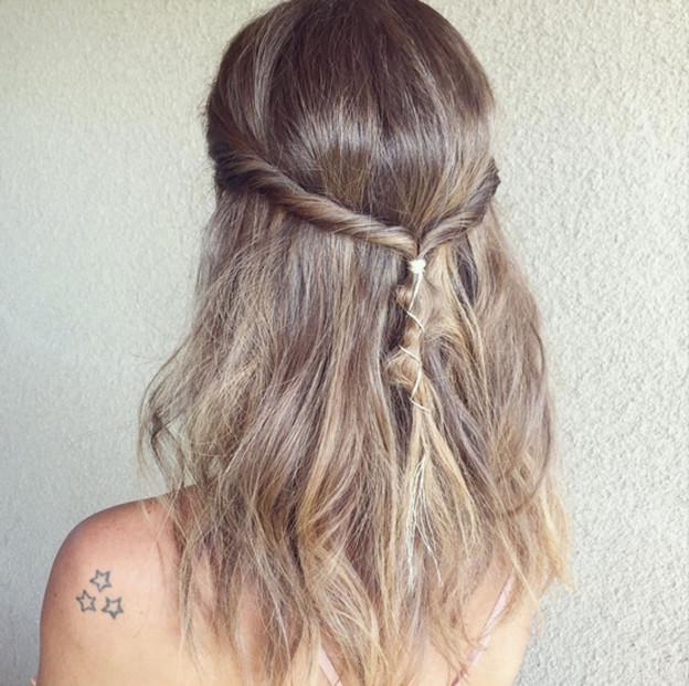 Frisuren-Inspiration: Millie Mackintosh's Coachella Boho-Style