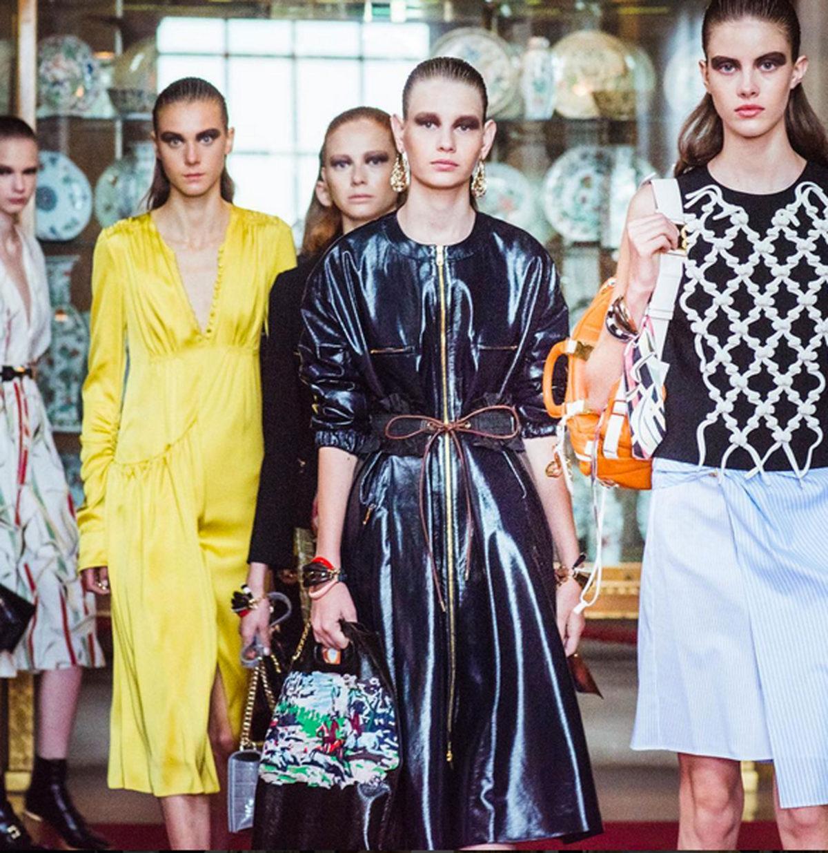 Backstage-Beauty: Der Sleek-Wet-Look bei Dior