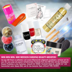 Facebook-Gewinnspiel: Wir werden Europas Beautymeister!