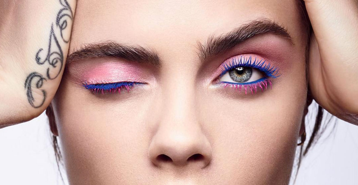 Beauty-Inspiration: Bunte Wimperntusche!