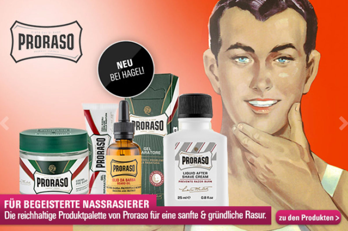 May we introduce: Proraso!