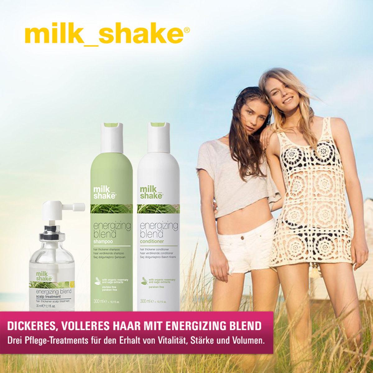Must Haves der Woche: Milk_Shake Energizing Blend für dickeres und volleres Haar!