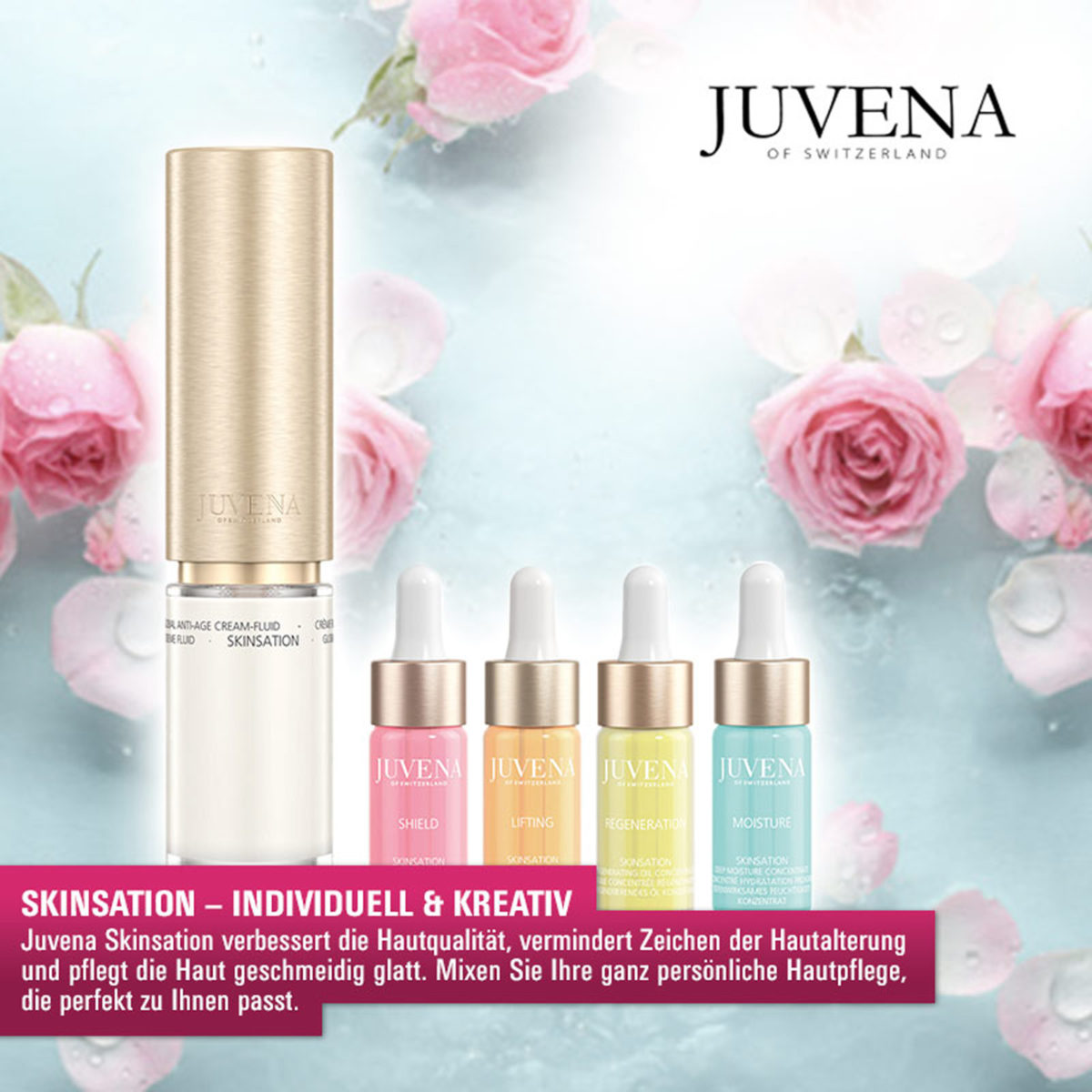 May we introduce… Juvena Skinsation!