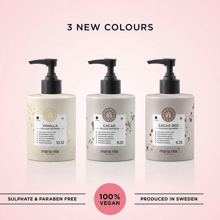 May we introduce: Maria Nila Colour Refresh!