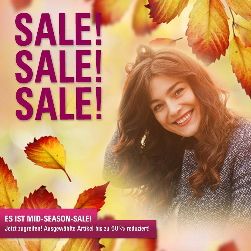 Happy Herbst: Wir haben Mid-Season-Sale!