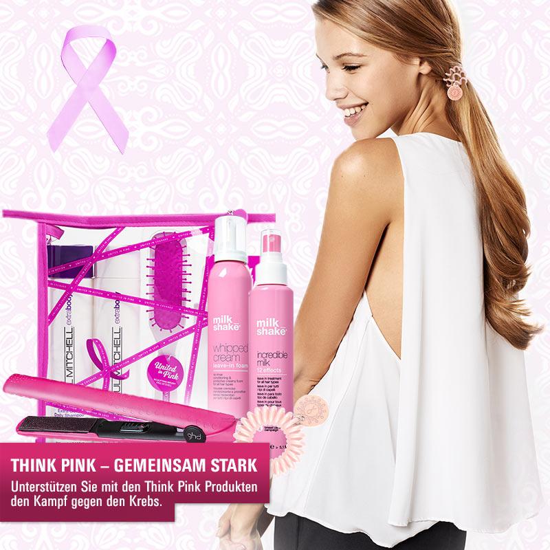 Think Pink: Mit ausgewählten Produkten den Kampf gegen Krebs unterstützen!