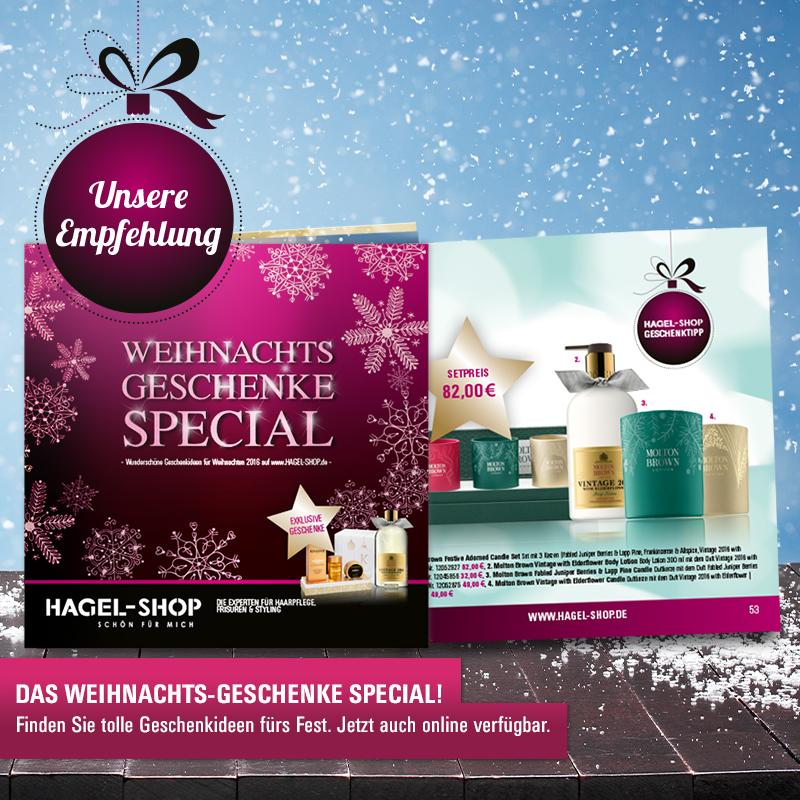 Der HAGEL Gift-Guide: Die besten Geschenke in einem Booklet!