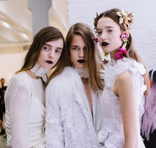 Backstage-Beauty: Der Winter-Look von Rodarte!