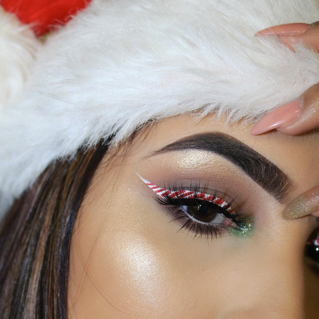 Beauty-Inspiraton: Weihnachts-Make-up!