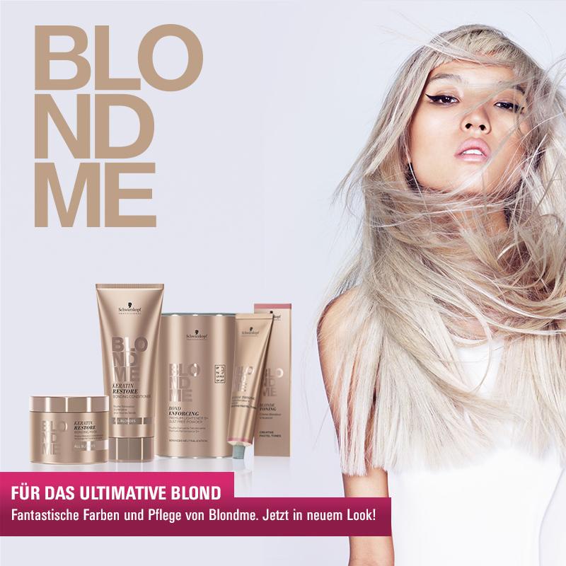 Must Haves der Woche: Schwarzkopf BlondMe im neuen Look!