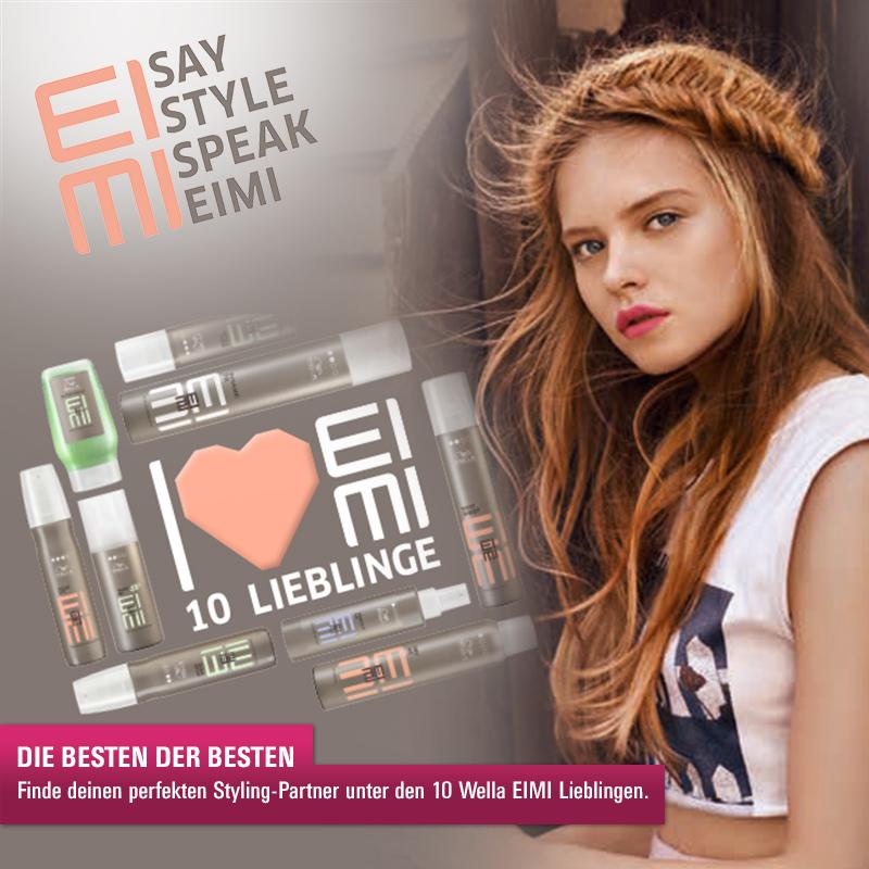 Shape Me: Die Wella Eimi Top Ten kommen mit einer neuen Überraschung