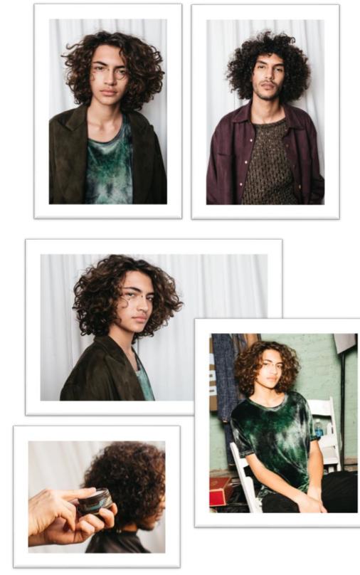Der Fashion Week Look: Volle Locken für die Männer!