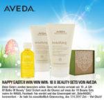 Facebook- und Instagram-Gewinnspiel: 18 Beauty-Oster-Sets von Aveda!