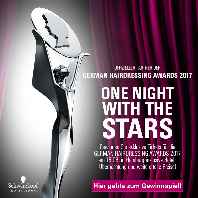 German Hairdressing Awards: Reise, Tickets und Produkte gewinnen!