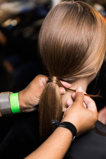 Frisuren Inspiration: Der Swing Style bei Aveda auf der New York Fashion Week