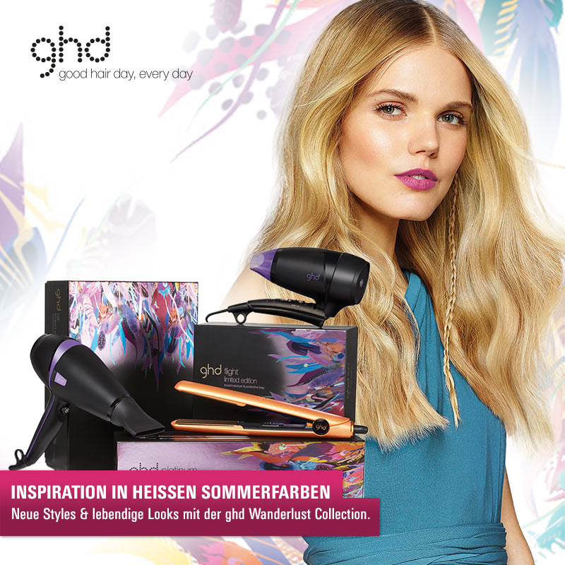 Must Haves der Woche: Die GHD Wanderlust Collection!