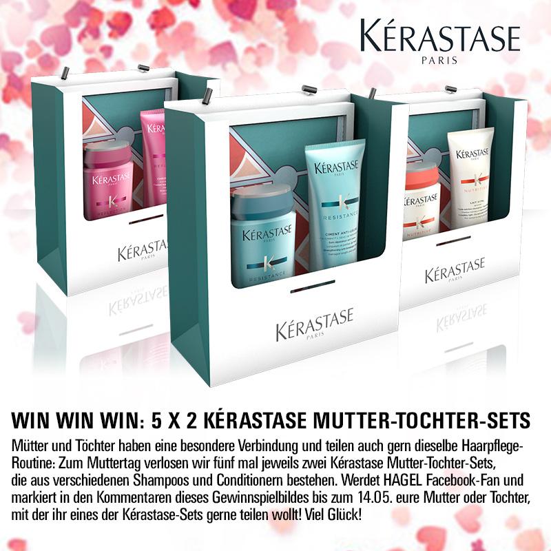 Facebook- & Instagram-Gewinnspiel: Kérastase & Redken zum Muttertag!