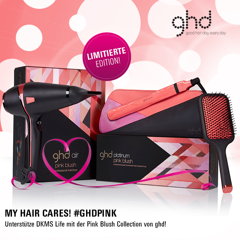 GHD & DKMS Life: Die neue GHD Pink Blush Collection ist da!