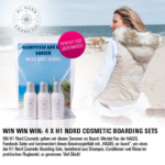 Facebook-Gewinnspiel: 4 x H1 Nord Cosmetic Boarding Sets