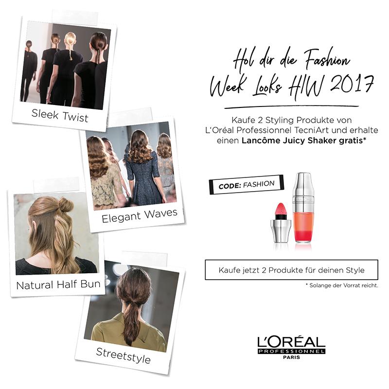 L'Oréal im Fashion-Fieber: Lancôme Juicy Shaker gratis mit TecniArt